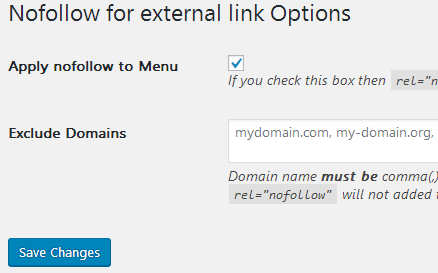 3 Steps to Add rel=nofollow and target=_blank for External Links in WordPress - WordPress Plugin