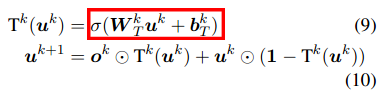 Gated End-to-End Memory Networks Equation