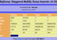 import big sql file into mysql