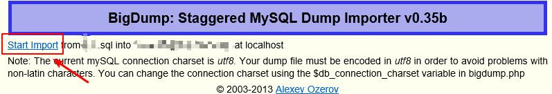 import large file into mysql