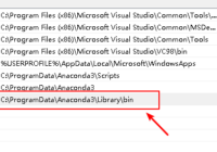 add anaconda to windows path environment