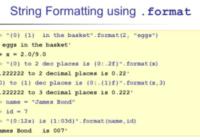 format python string