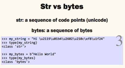 python string and bytes