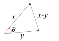 cosine distance example