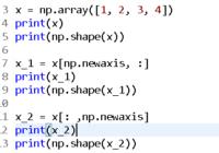 numpy.newaxis examples and tutorials