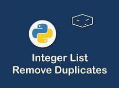 Best Practice to Remove Duplicate Elements in Python List - Python Tutorial