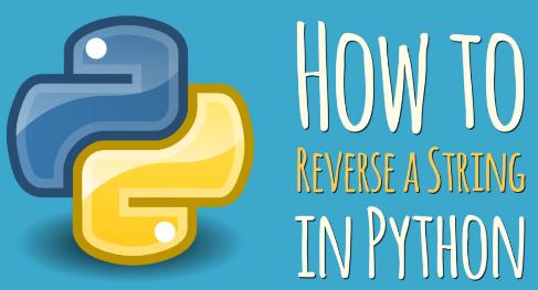reverse a python string