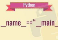 Python __name__ == '__main__'