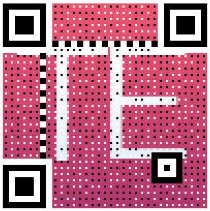 tutorialexample.com qr code with image as background