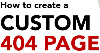 A Beginner Guide to Set Custom 404 Page for Your Site Using .htaccess