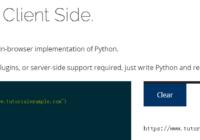 skulpt.org run python script online