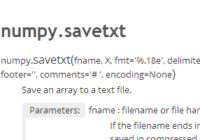 understand numpy.savetxt() with examples