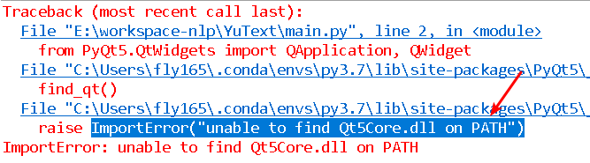 Fix unable to find Qt5Core.dll on PATH Error