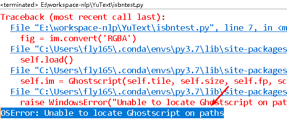 Fix OSError: Unable to locate Ghostscript on paths for Python Beginners - Python Tutorial
