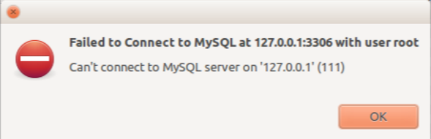 Fix Can't connect to local MySQL server through socket '/var/run/mysqld/mysqld.sock' (111)