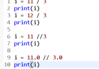 Understand Python Double Division Operator