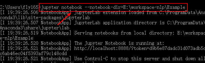 change jupyter notebook working directory