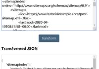 javascript convert xml to json