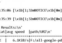 python run aira2 to download files