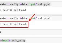 fix nnictl not found error