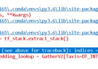 Fix tf.nn.embedding_lookup() InvalidArgumentError - indices error