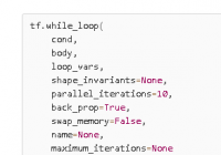 Understand TensorFlow tf.while_loop() with examples