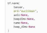 understand tensorflow tf.norm() with examples