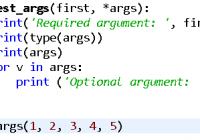 Understand Python *args Parameter: A Beginner Guide - Python Tutorial