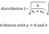 Xavier initialization in tensorflow