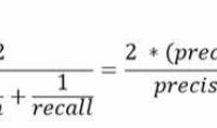 F1-Measure formula