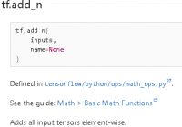 Understand tf.add_n() - Add a List of Tensors - TensorFlow Tutorial