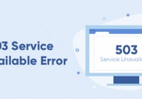 WordPress Report 503 Service Unavailable Error