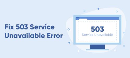 WordPress Report 503 Service Unavailable Error