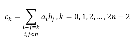 the equation of vector convolution