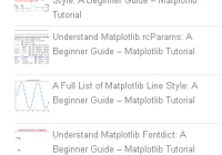 wordpress popular posts in matplotlib