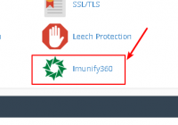 Imunify360 in cPanel