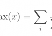 The formula of softargmax