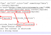 the relation between wordpress shortcode types and add_shortcode