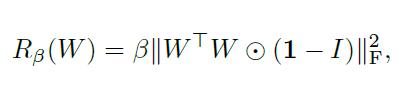L2 Norm Orthogonal Regularization