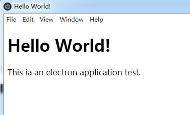 electron application example and tutorial