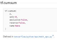 Understand tf.cumsum(): Compute the Cumulative Sum of The Tensor - TensorFlow Tutorial