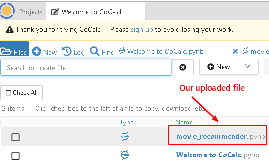 Use cocalc.com to view .ipynb files