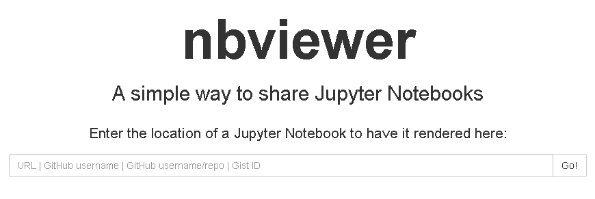 Use nbviewer to view .ipynb files
