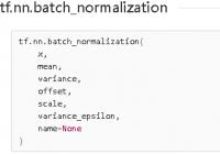 Understand tf.nn.batch_normalization(): Normalize a Layer - TensorFlow Tutorial