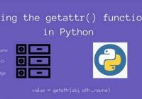 Understand Python getattr()