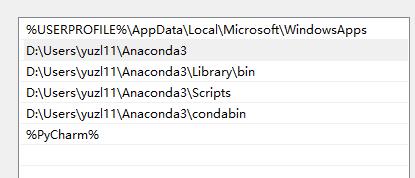 add anaconda to system environment variables