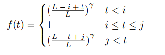 an example of decay function