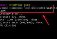 git clone a project source code to disk