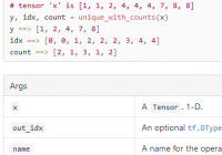 tf.unique_with_counts(): Count the Number of Each Element in Tensor - TensorFlow Tutorial