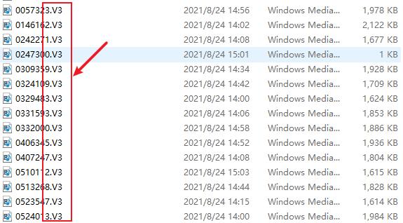 audio v3 format extension